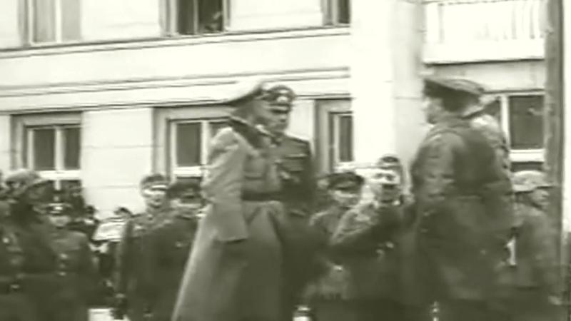 22-09-1939. Брест. Совместный парад Вермахта и РККА - Marsсh Erika.mp4