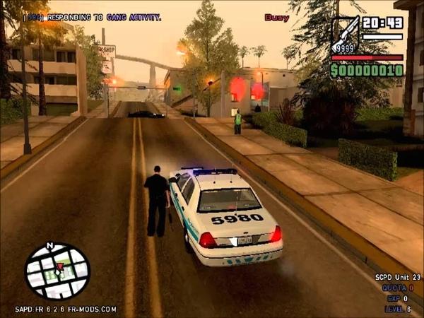 GTA SA: SAPD First Response Mod v6.2.6 TRP Gameplay 40 (Return on Patrol)