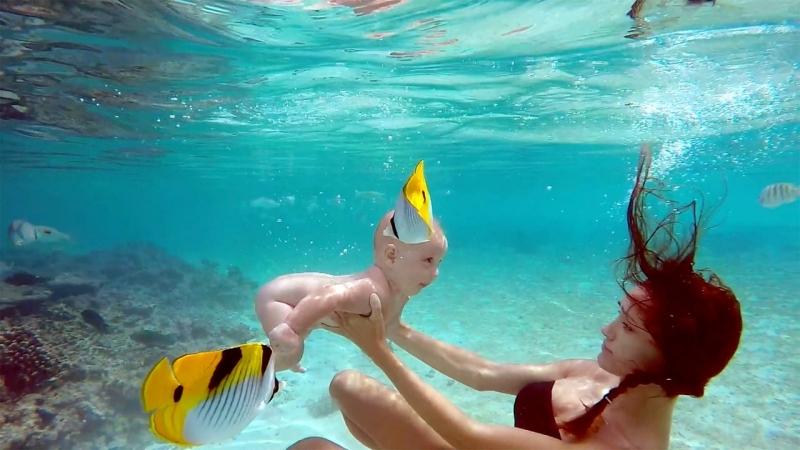 Alexander Tikhomirov Family Honeymoon Maldives Сексуальная Приват Ню Private Модель Nude 18