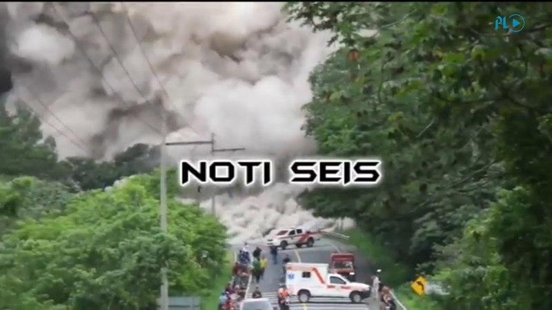 Flujo del volcán de Fuego alcanzó carretera y sepultó a personas | Prensa Libre