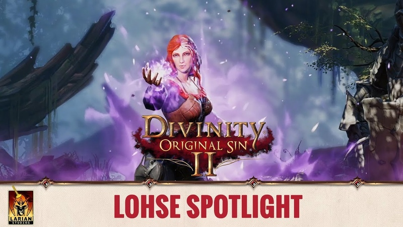 Divinity: Original Sin 2 - Spotlight: Origin Stories - Lohse
