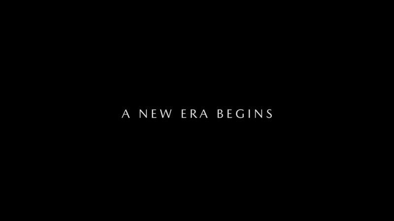 A New Era Begins November 2018