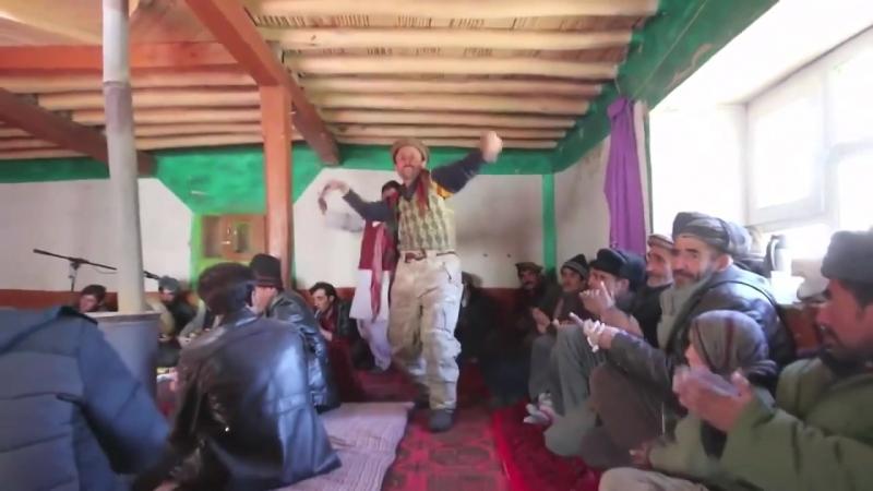 Народный ваханский танец (Ваханский район, Афганистан) - Хиквор ракс ца руй Вахонын