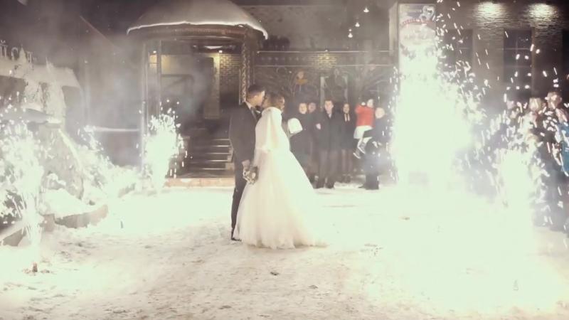 Зимняя свадьба. Видео подготовлено командой Сувары.