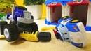 Robocar Poli und die Monster Maschinen - Blaze steckt in Schwierigkeiten