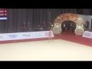 Дарья Трубникова - мяч многоборье Квалификационный отбор на ЮОИ