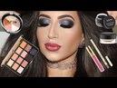 Party Makeup Shimmery Smokey Eyes | Melissa Samways