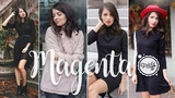 Magenta Photoshoot / Fall Lookbook #2