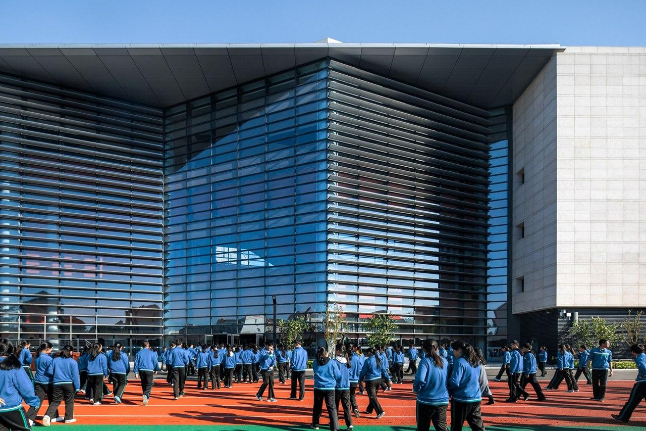 Tianjin Teda School / schneider schumacher