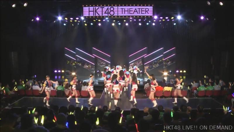 HKT48 Team TII 1st Stage Te wo Tsunaginagara (День рождения Хоказоно Хазуки 2018.01.24)