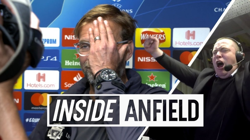 Inside Anfield: Liverpool 3-2 PSG | With Commentator Cam