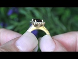 GIA Certified Top Gem Burma Ruby &amp Diamond Cocktail Ring 2.47 Carat &amp Solid 14k Yellow Gold