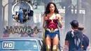 Wonder Woman 1984 Set Video (Behind the Scenes Compilation)