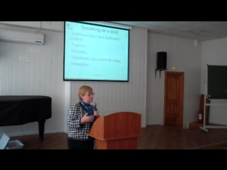 Вербицкая speaking English