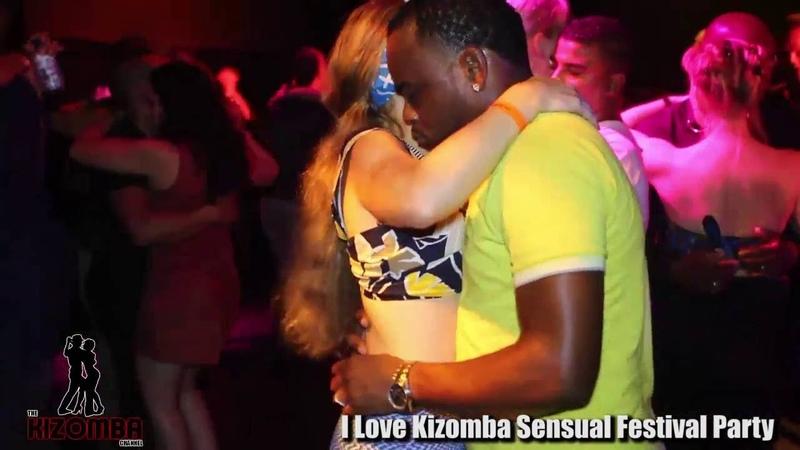 Social Kizomba Dancing Raw and uncut at I love Kizomba Sensual Festival 2016