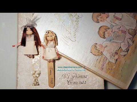 Muñequitas para recuerdo de primera comunión