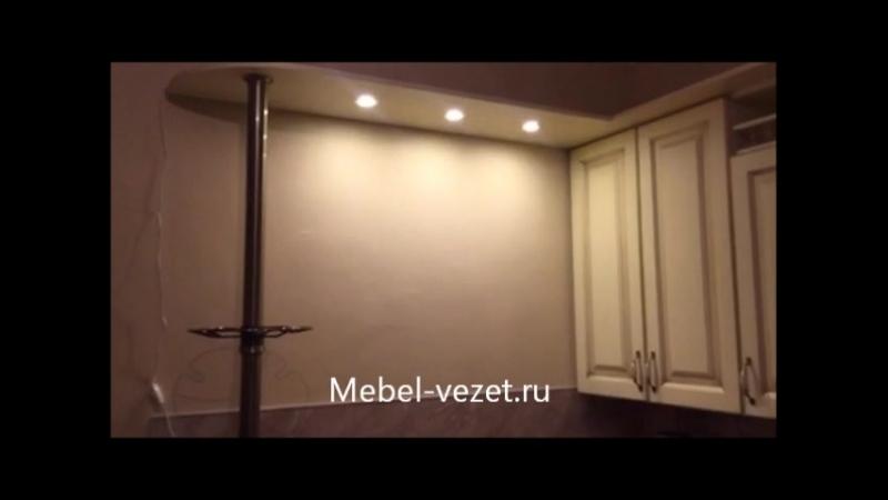 Кухня на заказ - Фасады Патина (Литературный б-р)