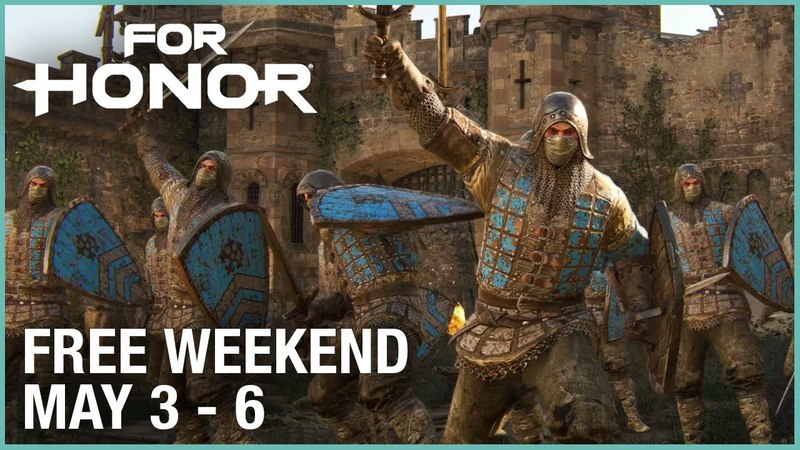 For Honor: Free Weekend May 3-6 | Trailer | Ubisoft [NA]