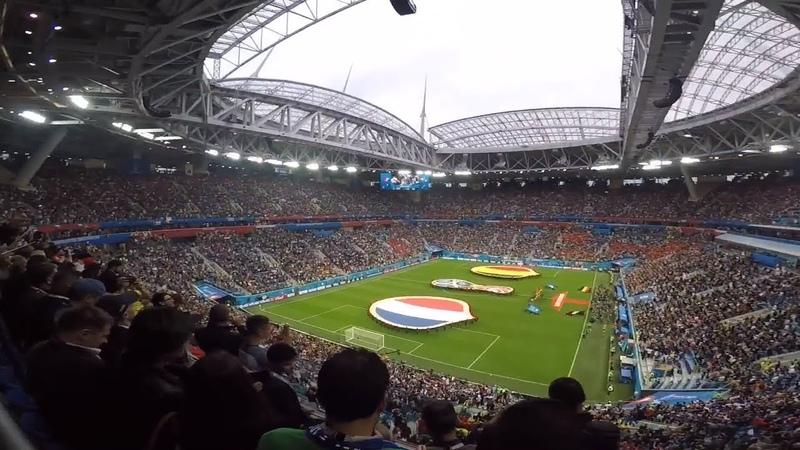 Зенит Арена   Чемпионат мира по футболу 2018 полуфинал Франция Бельгия