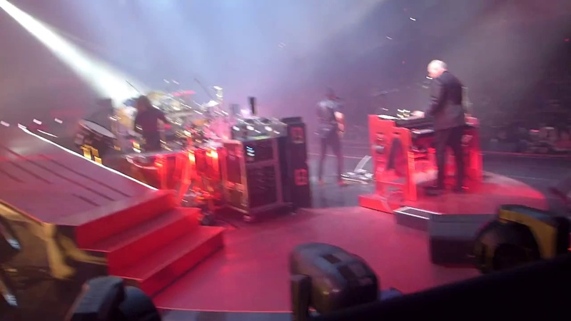 Queen Adam Lambert - Start of the Show- live on stage - Las Vegas MGM Park Theater