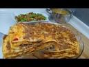 Akşam Yemeği Menüsü/Kayseri Yağlaması/Şebit,Çorba,Salata Menüsü/Seval Mutfakta