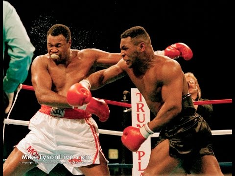 Mike Tyson KOs Larry Holmes This Day in Boxing January 22, 1988