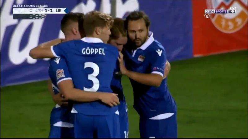 Armenia vs Liechtenstein 2-1\06.09.2018