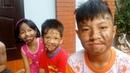 ABC bé Bi chơi trò chơi bôi nhọ nồi ❤ trò chơi dân gian Việt Nam
