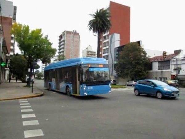 Троллейбусы Мегаполис в Росарио troleybuses Trolza en Rosario