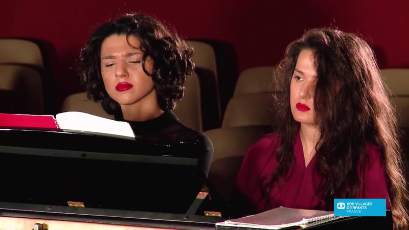 Khatia and Gvantsa Buniatishvili Four Hand Recital