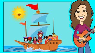 Come Sail Away With Me! | Pirate Song | Children, Kids and Toddler Song | Patty Shukla