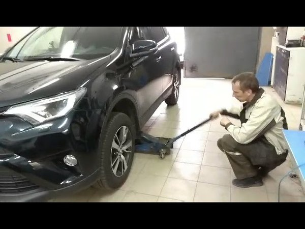 Установка сигнализации Pandora DXL-3910Pro на Toyota RAV4 Смоленск