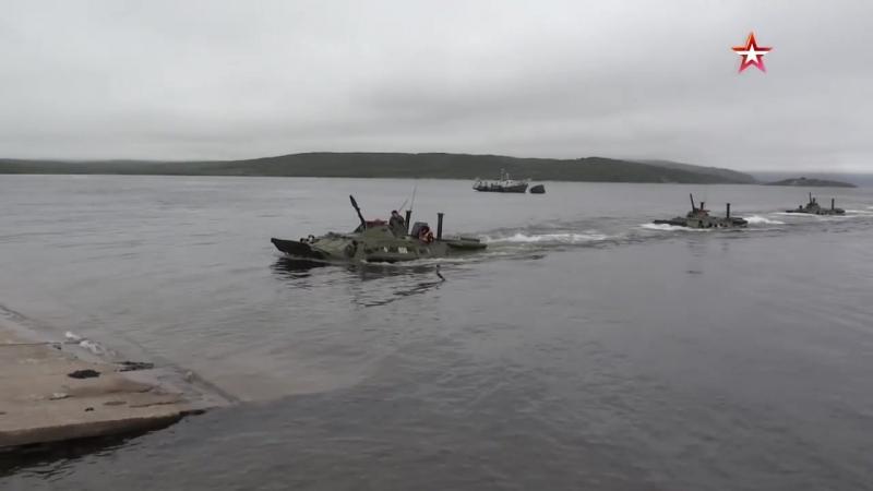 Высадка морской пехоты Северного флота