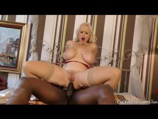 [CuckoldSessions] Angel Wicky [HD 1080, Anal, ATM, Big Tits, Black, Blonde, Blowjob, Cuckold, Interracial, Sex]
