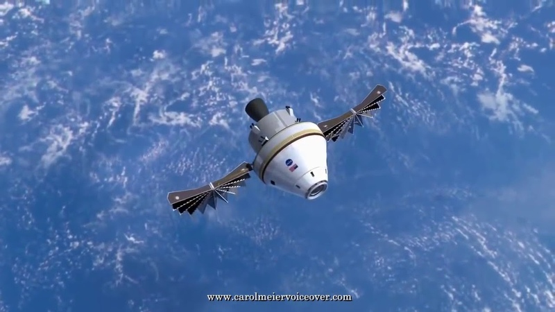 ORION NASAs Deep Space Exploration Spacecraft Explained in Detail 720p