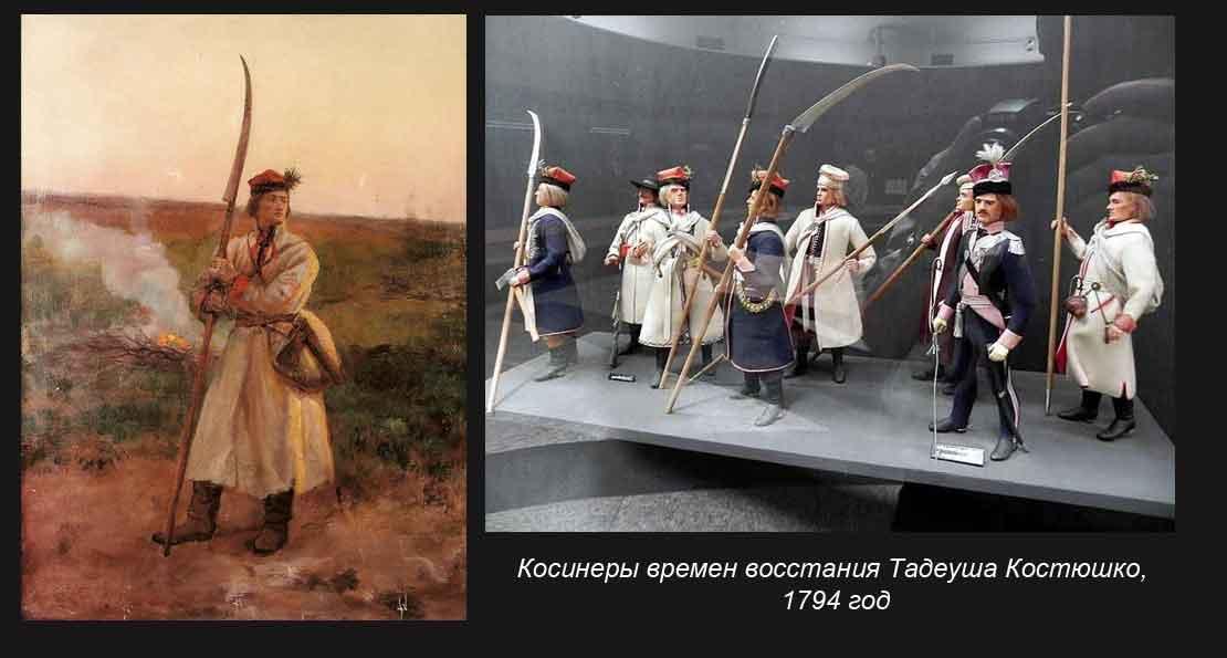 Косинеры Польши и Литвы