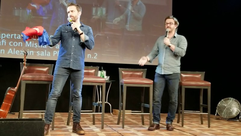 JIB9 2018 Rob Benedict and Richard Speight Jr Saturday Panel Part 2