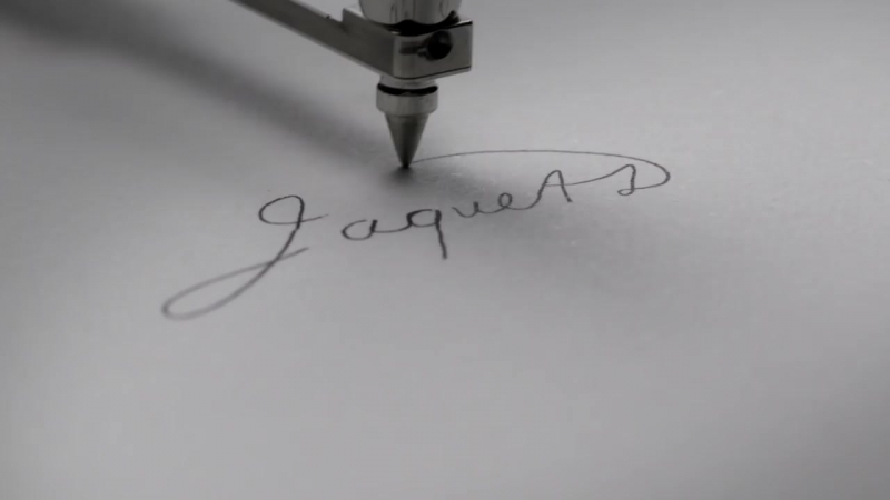 Jaquet Droz, Signing Machine, J899.000.064