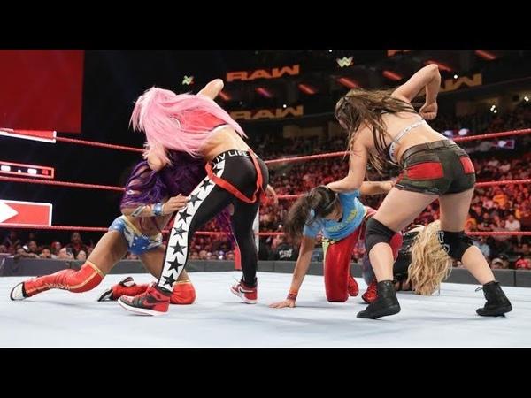 SBMKV_Video | RAW 15.10.18: Ruby Riot vs Natalya (Sasha Banks Returns)