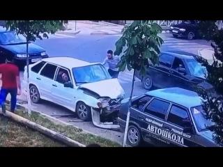 Авария в Дербенте.Эксклюзив
