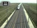 The world's fastest train Circling a 574 8 KM H TGV