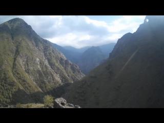 Чечня Аргунское ущелье.
