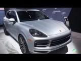 2018 Porsche Cayenne Exterior Walkaround LA Auto Show