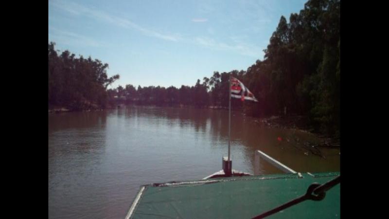 Pevensey Melbourne Paddle Steamer on Murray River 4, Victoria, Australia