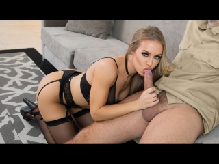 Nicole aniston - happy anniversary, darling (creampie, big tits, blonde, innie pussy, thong, trimmed pussy, work fantasies)