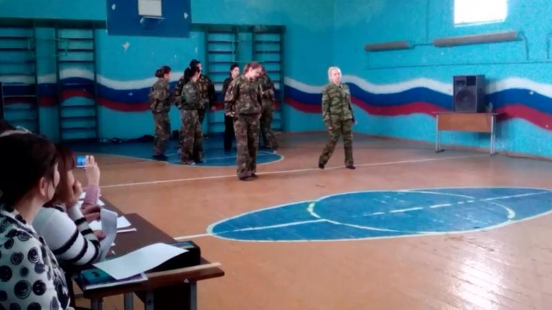 Танец студенток ГАПОУ ОАК с. Кичкасс (А ну-ка парни 21.02.2018)