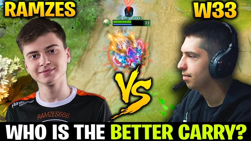 RAMZES666 vs W33 - Who is the Better Carry?