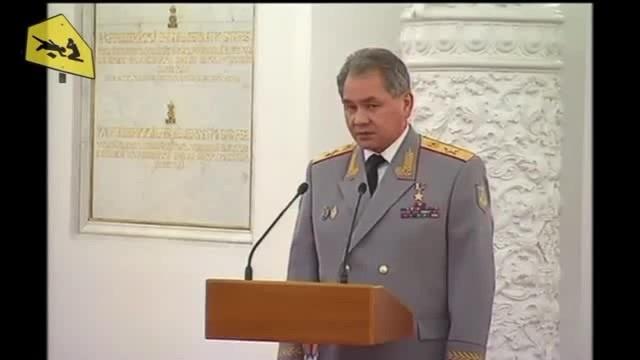 Шойгу уговаривает Путина пойти на Парад (Зеленый Слоник)