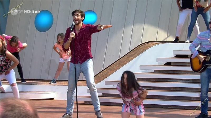 Álvaro Soler La Cintura ZDF Fernsehgarten 06.05.2018