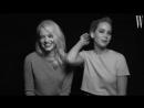 Screen Tests Interview com Emma Stone e Jennifer Lawrence — W Magazine 2018